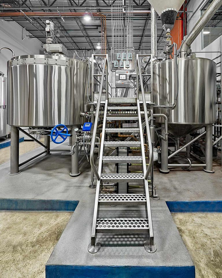 DME Brewing Solutions Brewhouse